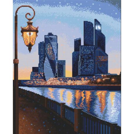 Прогулки по Москве Алмазная вышивка мозаика Алмазное Хобби AH5493