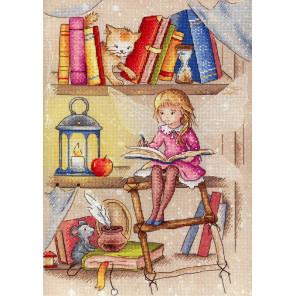 Книжная фея Набор для вышивания МП Студия РК-704