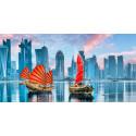 Лодки драконов Алмазная вышивка мозаика Алмазное Хобби AH5490