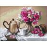 Чай с малиной Алмазная вышивка мозаика Алмазное Хобби AH5461