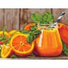Апельсиновый фреш Алмазная вышивка мозаика Алмазное Хобби AH5476