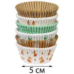 Животные Набор бумажных форм для кексов Wilton ( Вилтон )