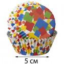 Конфетти Набор бумажных форм для кексов Wilton ( Вилтон )