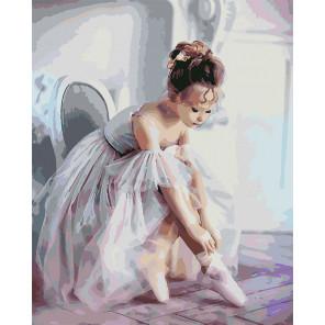 Балерина Раскраска картина по номерам на холсте U8072