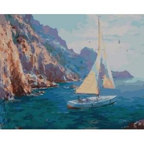 У скалистого берега Раскраска картина по номерам на холсте PK11119