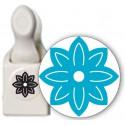 Силуэт Цветок Фигурный дырокол для скрапбукинга Martha Stewart Марта Стюарт