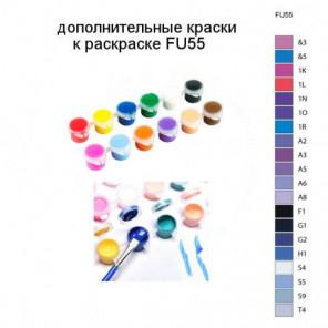 Дополнительные краски для раскраски FU55
