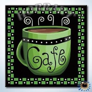Кофе-грин Раскраска по номерам акриловыми красками на холсте Hobbart