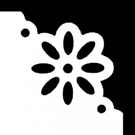 Ромашка Угловой фигурный дырокол для скрапбукинга, кардмейкинга Efco