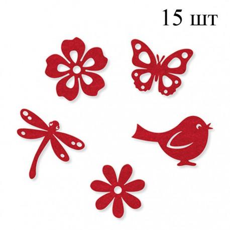 Лето красное Набор из фетра декоративные элементы для скрапбукинга, кардмейкинга Efco