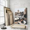 Пример работы Вид на Казанский собор / Утро в Санкт-Петербурге 80х100 см Раскраска картина по номерам на холсте AAAA-RS119-80x1