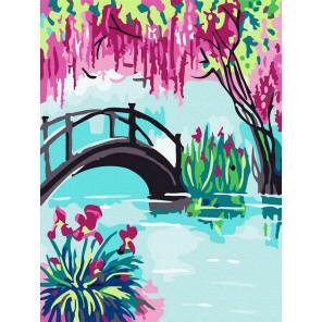 мостик Раскраска картина по номерам на холсте KH0996