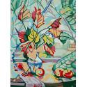 Осенний натюрморт Раскраска картина по номерам на холсте KH0995