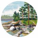 Берег Ладоги. Миниатюра Набор для вышивания Овен 1298