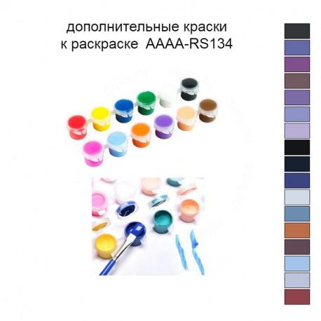 Дополнительные краски для раскраски AAAA-RS134