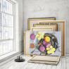 Пример работы Сладкий завтрак 75х100 см Раскраска картина по номерам на холсте AAAA-RS140-75x100