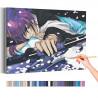 Сакура и демоны / Аниме Раскраска картина по номерам на холсте AAAA-ANI003