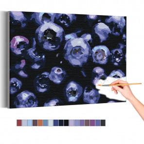 Черника Раскраска картина по номерам на холсте AAAA-RS134