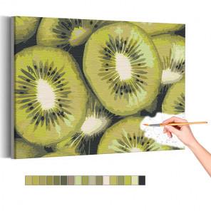 Киви Раскраска картина по номерам на холсте AAAA-RS137