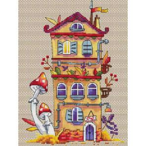 Осенний домик Набор для вышивания K-54