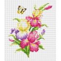 Ирисы Набор для вышивания Многоцветница МКН 09-14