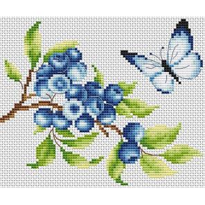 Голубика Набор для вышивания Многоцветница МКН 11-14