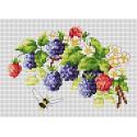 Ежевика Набор для вышивания Многоцветница МКН 12-14
