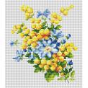Мимоза Набор для вышивания Многоцветница МКН 14-14