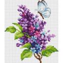 Сирень Набор для вышивания Многоцветница МКН 16-14