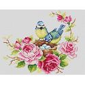 Синички Набор для вышивания Многоцветница МКН 17-14