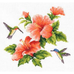 Колибри Набор для вышивания Многоцветница МКН 21-14
