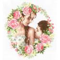 Нежный поцелуй Набор для вышивания Многоцветница МКН 35-14