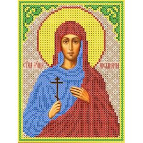 Святая Аполлинария (Полина) Канва с рисунком для вышивки бисером ТКБИ 5092