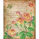 Поэтические розы Ткань для вышивки бисером МП Студия Г-167