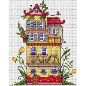 Весенний домик Набор для вышивания Merejka K-52