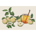 Медовые яблоки Набор для вышивания Merejka K-02