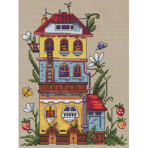 Летний домик Набор для вышивания Merejka K-53