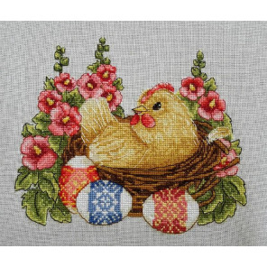 Счасливой пасхи Набор для вышивания Merejka K-65