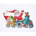 Рождественское путешествие Набор для вышивания Merejka K-116