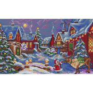 Рождественский гость Набор для вышивания Merejka K-75