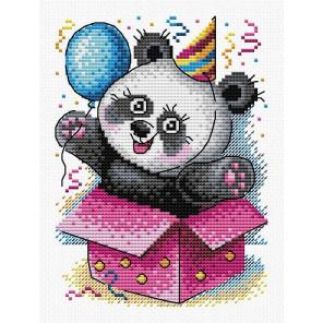 "М-598 Набор ""С днём рождения!"" вышивка на канве М-598"