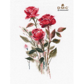 Розы Набор для вышивания Овен 1392