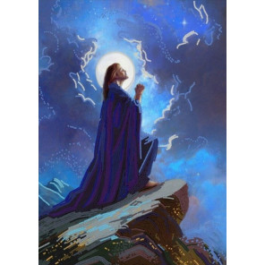 "8528 ""Иисус Христос"" Рисунок на ткани 8528"