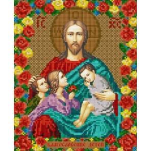 """9267 """"Благословение детей"""" Рисунок на ткани 9267"""