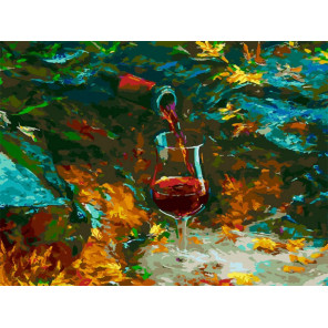 Истина в вине Раскраска картина по номерам на холсте Белоснежка 392-AS
