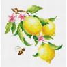 Ветка лимона Набор для вышивания Многоцветница МКН 01-14