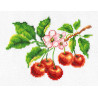 Ветка вишни Набор для вышивания Многоцветница МКН 03-14