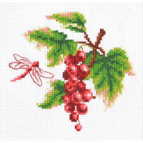 Красная смородина Набор для вышивания Многоцветница МКН 05-14
