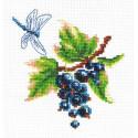 Черная смородина Набор для вышивания Многоцветница МКН 06-14