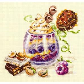 Шоколадный десерт Набор для вышивания Чудесная игла 120-080